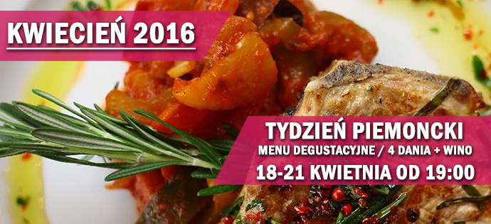 Regional weekend – Piemont – 18.04 – 21.04